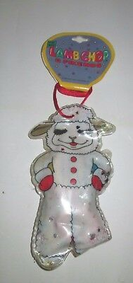 Lamb Chop & Friends Shari Lewis 1993 Vinyl Shaped Pouch With Hair Ties