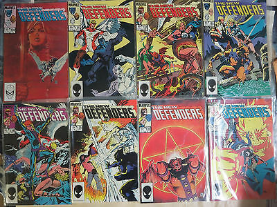 The Defenders Lot (Marvel 1984-1985) #130-147 151 152 Iceman Valkyrie 20Diff