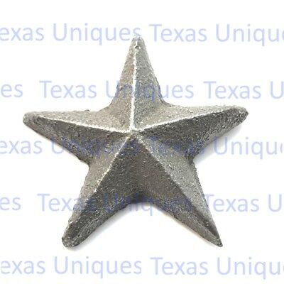 1-3/4 Inch Cast Iron Star With Nail ST10 (Lot of 50)
