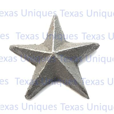 2 Inch Cast Iron Star With Nail ST10 (Lot of 50)