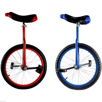 Unicycle Bike Cycle Bicycle Uni Cycle with Stand + Spare Inner Tube / Practice