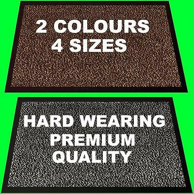 Commercial Heavy Duty Washable Carpet Door Mat Non Slip Entrance Rug Shop Pub