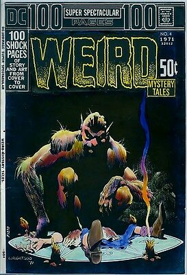 Bernie Wrightson COLOR GUIDE ART WEIRD #1 COVER DC 100-PAGE SUPER SPECTACULAR 4