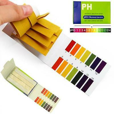 160 pH 1-14 Universal Full Range Litmus Test Paper Strips Tester Indicator Urine