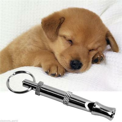 High Quality Dog Training Whistle Ultrasonic Adjustable Sound Key Chain Puppy