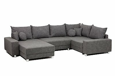vicco relax sofa cara mia antikleder optik gobileder polsterecke ecksofa braun eur 979 00. Black Bedroom Furniture Sets. Home Design Ideas
