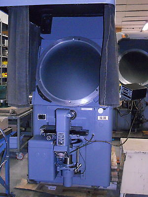 J&l Fc-30 Comparator With Surface Illumination And Acu-Rite Digital Readout