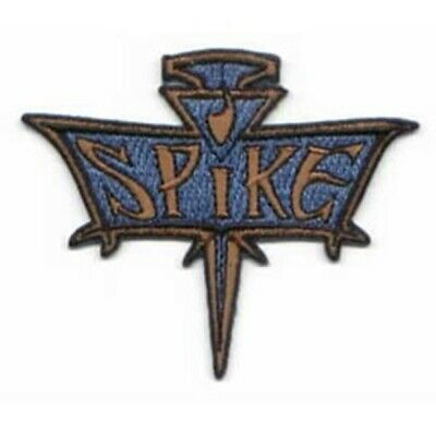 Buffy The Vampire Slayer Spike Logo Embroidered Patch, NEW UNUSED