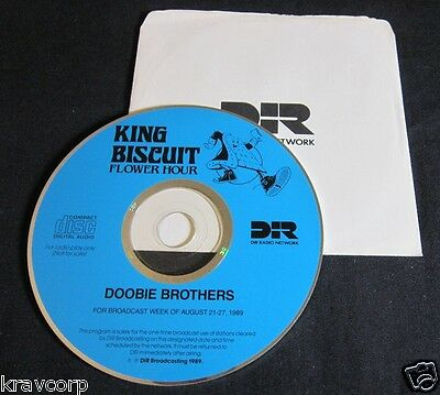 Doobie Brothers 'King Biscuit Hour' 1989 Radio Cd