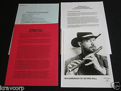 Jethro Tull 'Roots To Branches' 1995 Press Kit #2--Photo