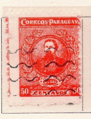 Paraguay 1925-26 Early Issue Fine Used 50c. 169866