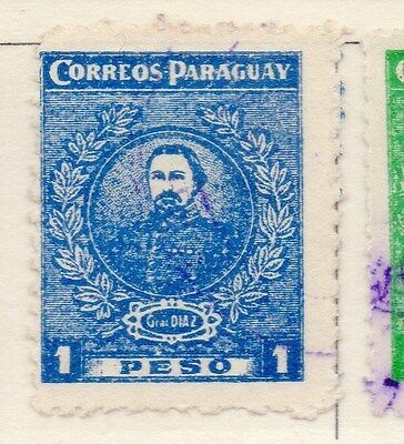 Paraguay 1925-26 Early Issue Fine Used 1p. 169867