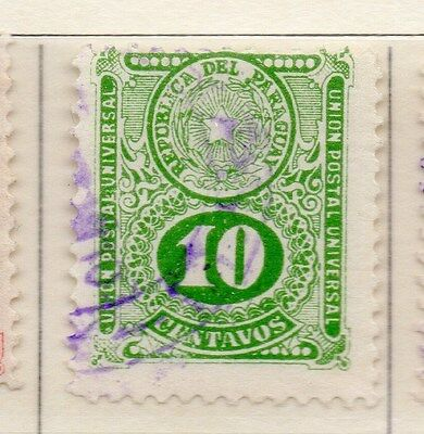 Paraguay 1910-19 Early Issue Fine Used 10c. 169816