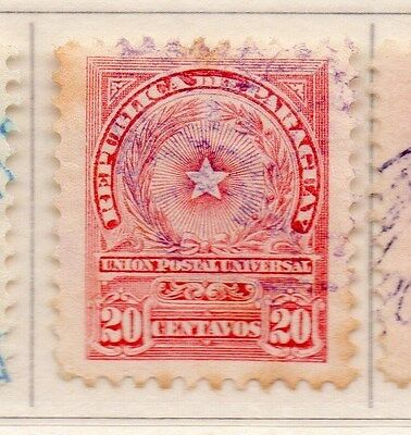 Paraguay 1913 Early Issue Fine Used 20c. 169832