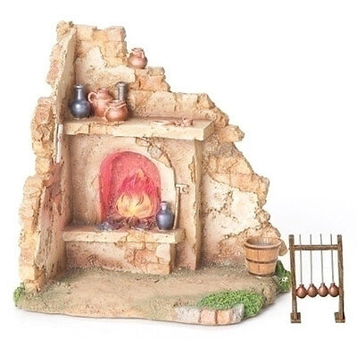 "Fontanini 5"" GLASS BLOWER SHOP Nativity Village Building 55570"