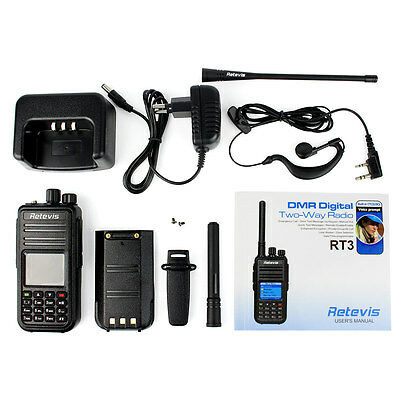 DE Local  DMR Mobile Walkie Talkie Retevis RT3 Same as TYT MD-380 2 Way Radios