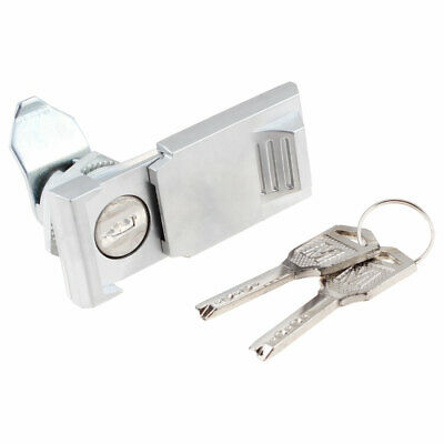 "File Electric Cabinet Networking Door Metal Safety Lock 2"" w 2 Pcs Keys"