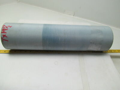 "2 Ply Blue Rough Top Incline Conveyor Belt 7Ft X 19-1/2"" 1/4"" Thick"