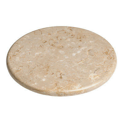 Champagne Beige Marble Rotating Cheese Serving Turn Table Tray Plate Lazy Susan