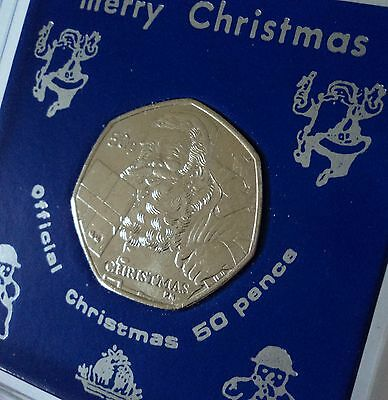 2011 Isle of Man Father Christmas Santa Claus Coin (UNC) Gift in Display Case