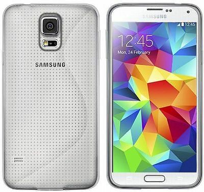 New Clear S Line Tpu Hydro Gel Case Cover Skin + Film For Samsung Galaxy S5 2014