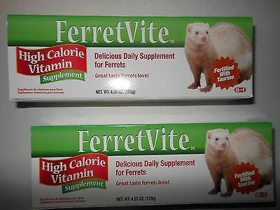 FerretVite Ferret Vite Ferret Vitamin Supplement - 2 tubes