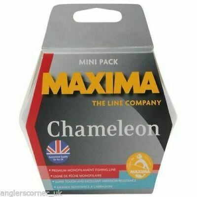 Maxima Chameleon 600m Bulk Spool / All Sizes / Fishing Mono Line