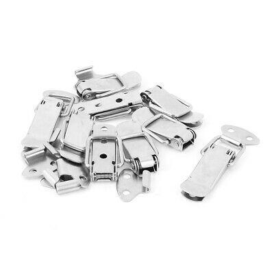 9pcs Metal Spring Loaded Toggle Case Box Chest Trunk Latch Catch Clamp
