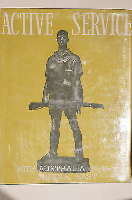 WW2 Australian Army Active Service in Middle East Reference Book