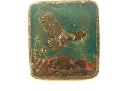 1977 American Bald Eagle Belt Buckle by Indiana Metal Craft 7215