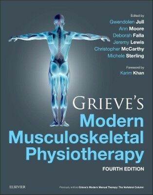 Grieve's Modern Musculoskeletal Physiotherapy, 4e (Hardcover), Ju. 9780702051524
