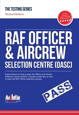ROYAL AIR FORCE OFFICER Aircrew and Selection Centre Workbook (OASC). *NEW 2016.
