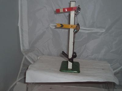 O Gauge Hornby Double Arm Signal In Used Condition Ideal 4 Garden Outdoor Layout