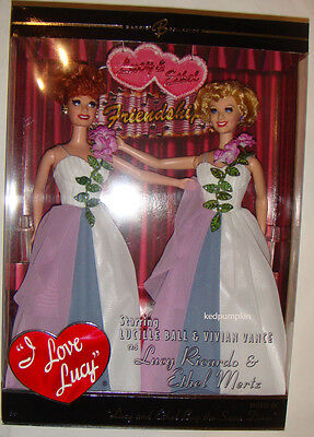 Barbie Lucy and Ethel Buy the Same Dress Barbie Doll NRFB xb900