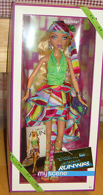 My Scene - Barbie - Project Runway Doll NRFB xb900
