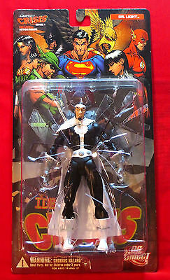 Identity Crisis Dr. Light Action Figure Signed By Artist Michael Turner