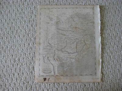 Antique 1804 China Copperplate Map Formosa Taiwan Hainan Very Detailed Rare Nr