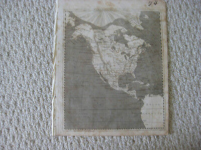 Antique 1804 North America Arrowsmith & Lewis Map United States Texas Louisiana