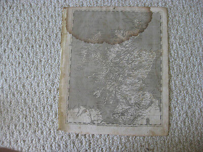 Antique 1804 Scotland Arrowsmith & Lewis Copperplate Map Islands Detailed Rare N