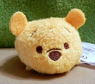 "New Disney Exclusive Stackable Plush 3 1/2"" Tsum Tsum From Japan Pooh"