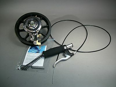 """Outback Longboard Skateboard Universal 8"""" Rim and Drum Braking Assembly - New"""