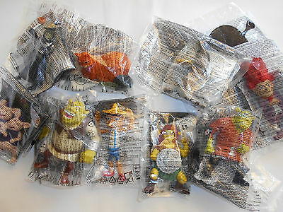 Mc Donald's Happy Meal - Shrek  Forever After  Completa 2010