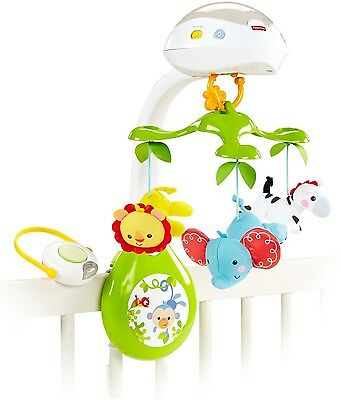Fisher-Price Deluxe Projection Mobile Rainforest Friends 3-in-1