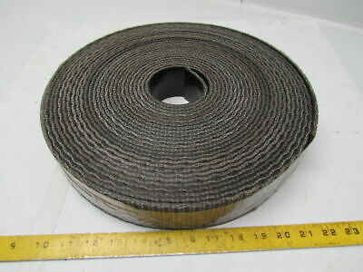 1 Ply Black Interwoven Polyester Brushed Conveyor Belt 59Ft X 2-1/2""