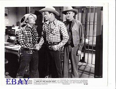 Roy Rogers Pals Of The Golden West  VINTAGE Photo