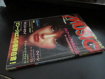 The Music Feb 1979 Japan Magazine Book Kate Bush David Bowie Genesis ABBA