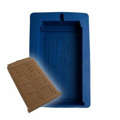 Doctor Who Tardis Silicone Design Cake Mould Food Baked Shaped Birthday Series
