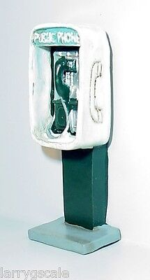 Pay Phone Miniature for your Model Train / Modeling Dioramas 1/24 Scale G Scale