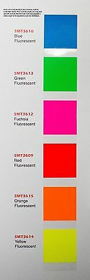"15"" X 10 Yds Smart3000 Fluorescent Sign Vinyl Craft Hobby Race Car Pinstripe"