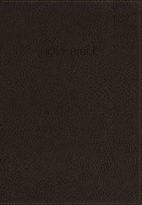 Kjv, Foundation Study Bible, Leathersoft, Brown, Red Letter Edition by Thomas Ne